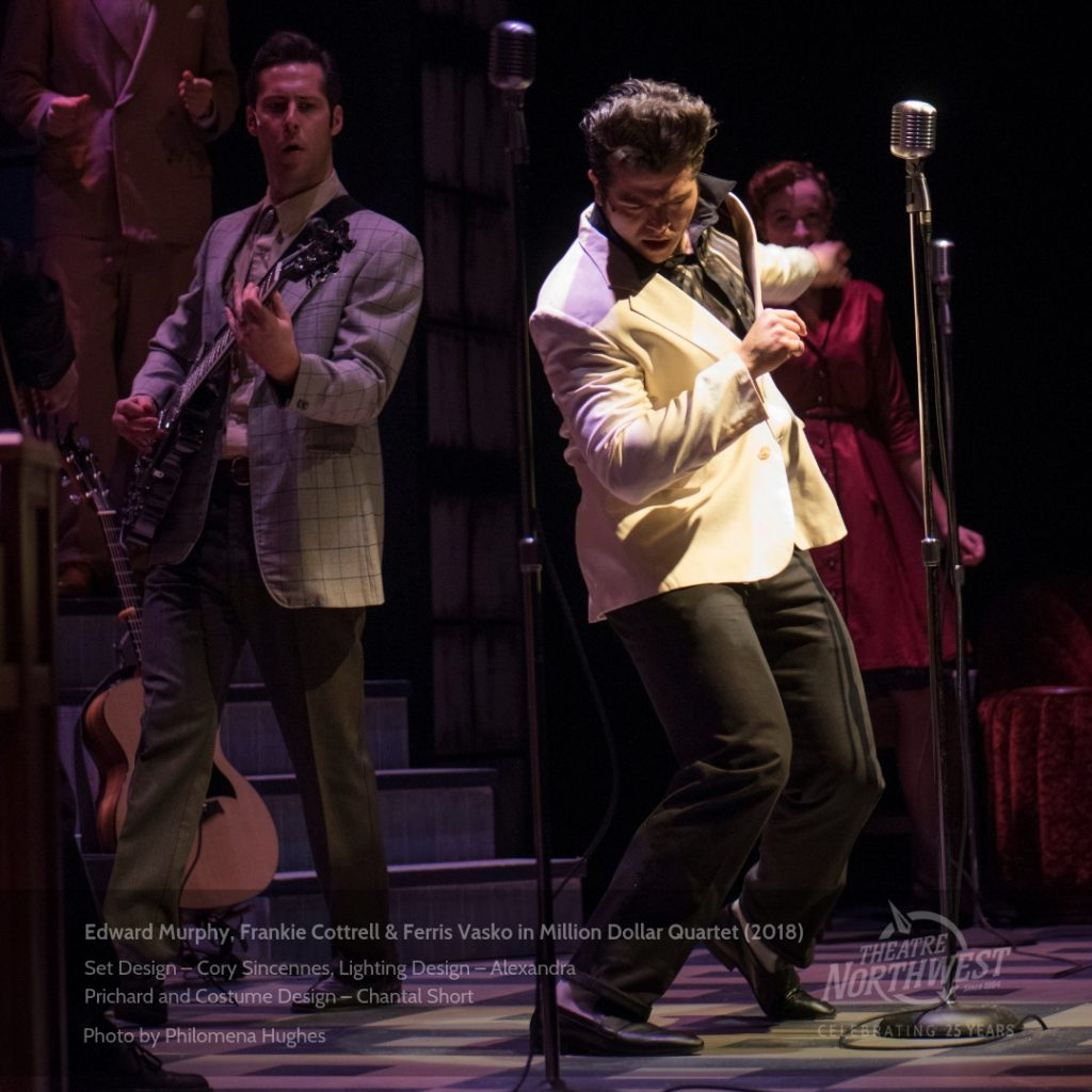 Elvis in Million Dollar Quartet